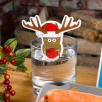 Christmas Craft - Rudolph Glass Decorations (10)